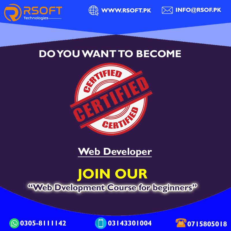 website development course in sukkur sindh pakistan
