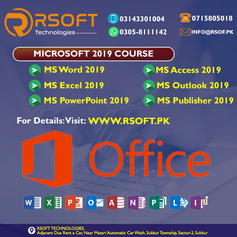 microsoft office 2019 training course online